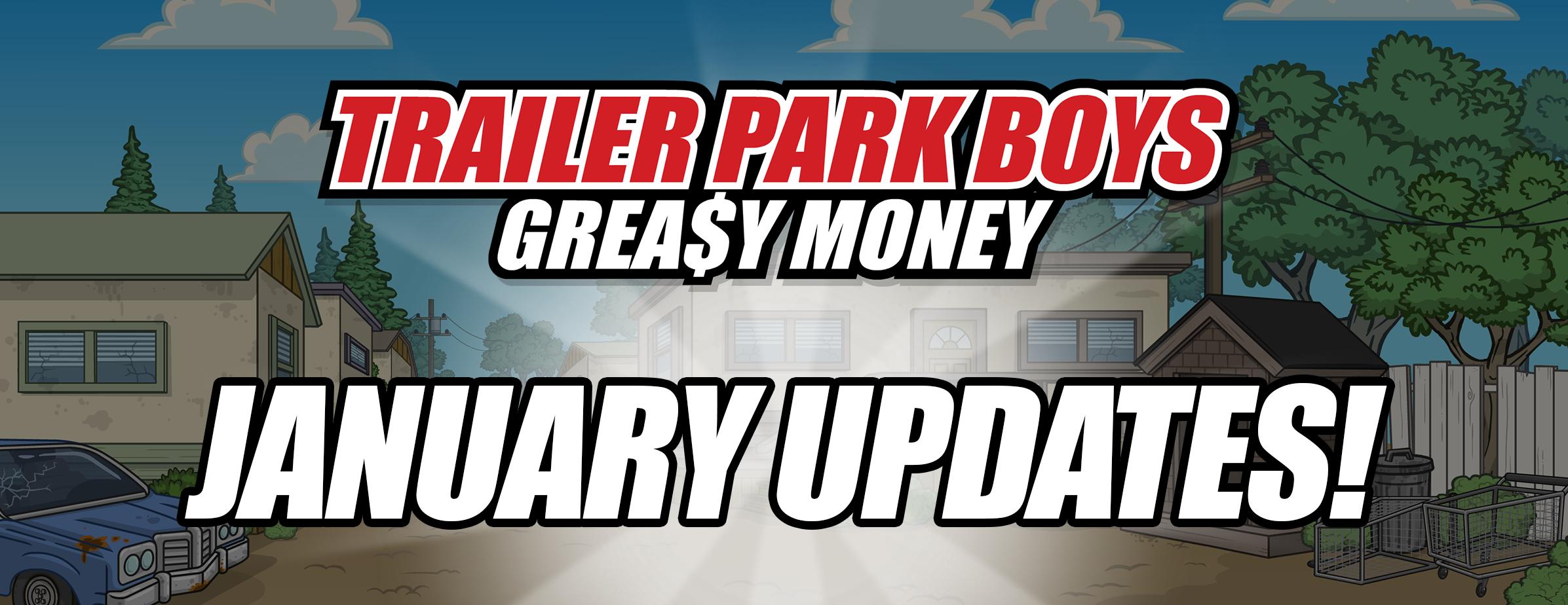 Trailer Park Boys: Greasy January Events!