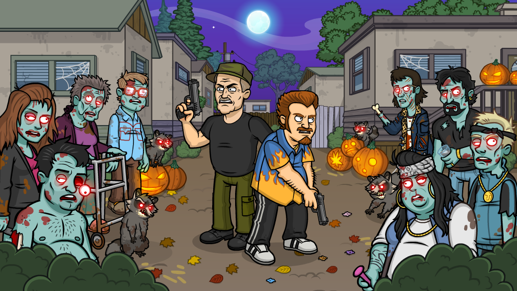 Trailer Park Boys Greasy Money Halloween Event - Zombie Sunnyvale