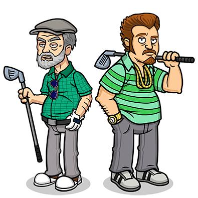 Golf Lahey & Ricky