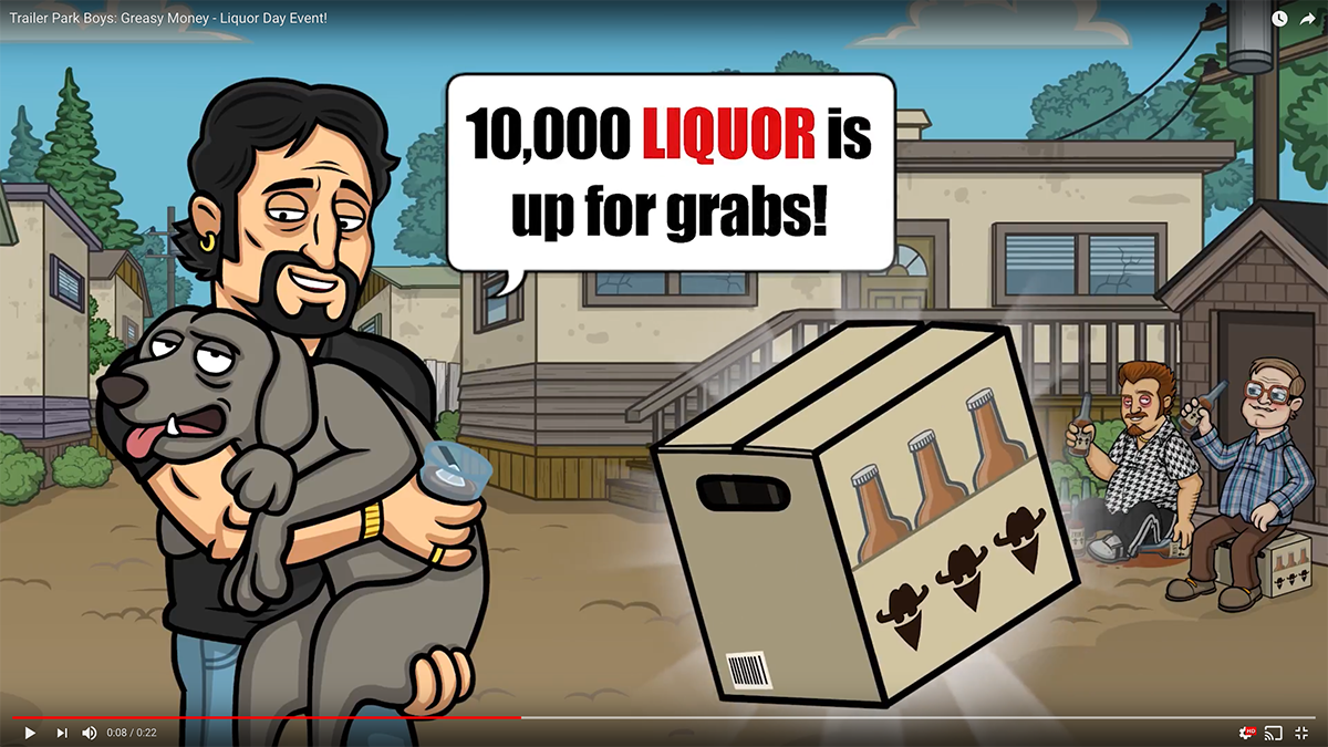 Liquor Day Video