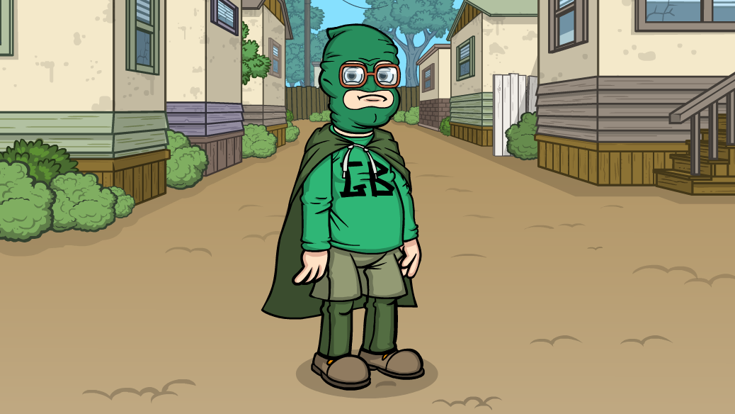Trailer Park Boys Green Bastard Costume